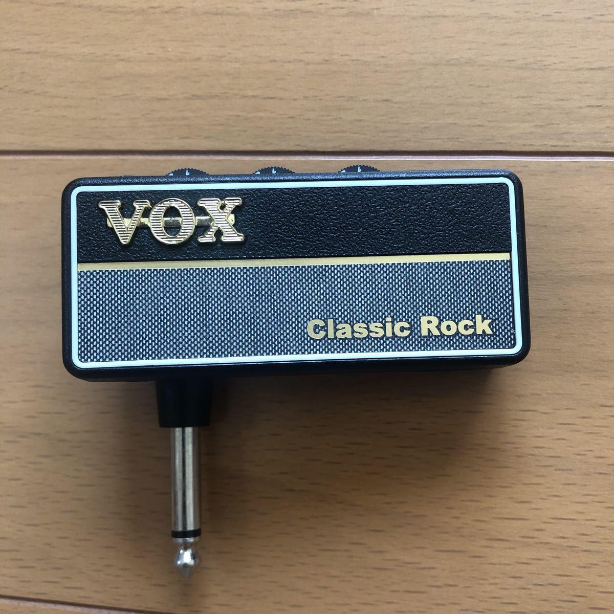 VOX ヘッドフォン ギターアンプ amPlug2 Classic Rock ケーブル不要 ギターに直接プラグ・イン 自宅練習