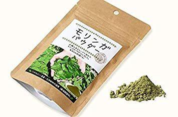 50g × 1袋 【国内製造】希少な有機栽培のモリンガです!栽培期間中、農薬・化学肥料 不使用。国産のモリンガ葉100%を使用 _画像2