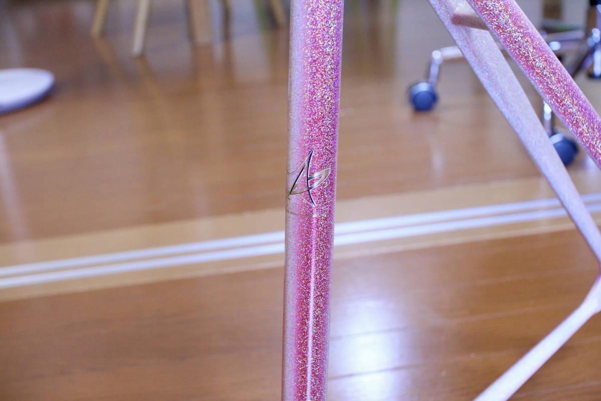大量ラメ MAKINO マキノ 競輪フレーム NJS 540mm エアロ ピスト 3rensho nagasawa kalavinka cherubim_画像9