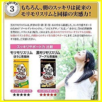 新品55g(5.5gティーバッグ×10包) ハーブ健康本舗 黒モリモリスリム (プーアル茶風味) (10包)PXMS_画像5
