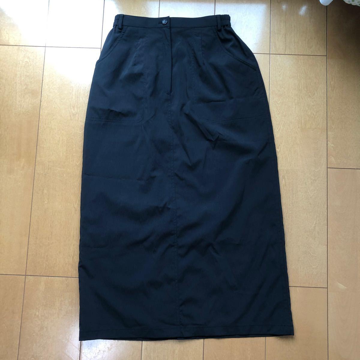タイトスカート* ロングスカート*ブラック