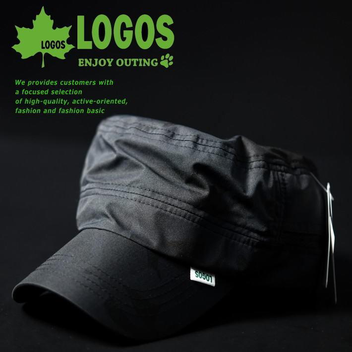 【撥水】ワークキャップ 帽子 メンズ レディース LOGOS ロゴス ブランド 撥水 アウトドア LS3N206Z カモ/ブラック 新品