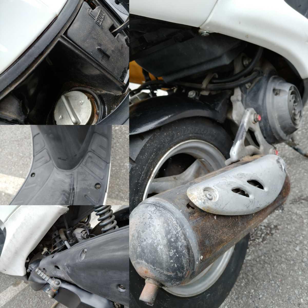 「【おまけ付最終】旧車 絶版 当時 人気車種HONDAライブディオSR 原付バイク50cc AF35 コア2スト 規制前後期 動画有 バッテリー新品」の画像3