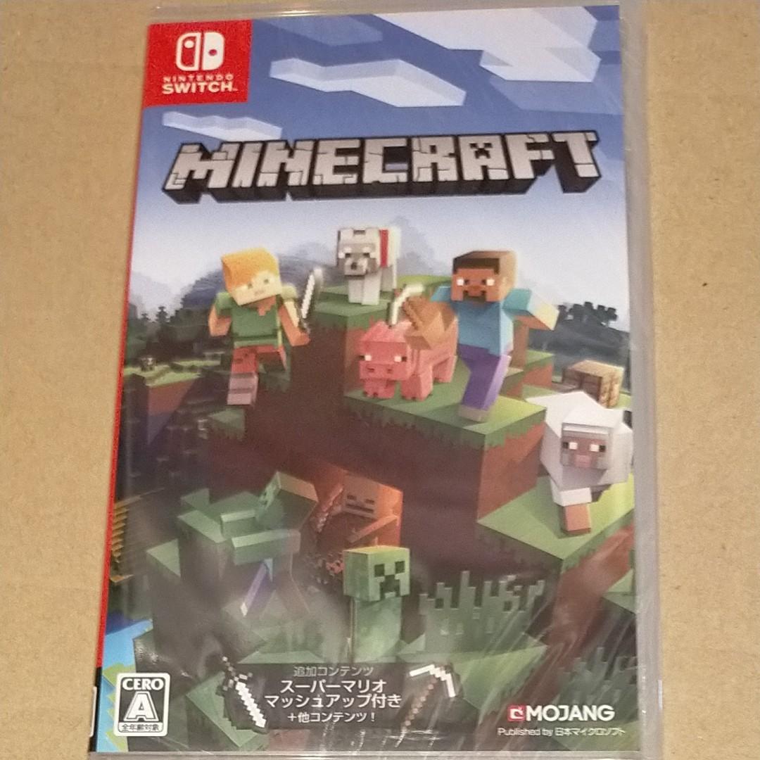 新品未開封◆マインクラフト Minecraft Nintendo Switch ニンテンドースイッチソフト