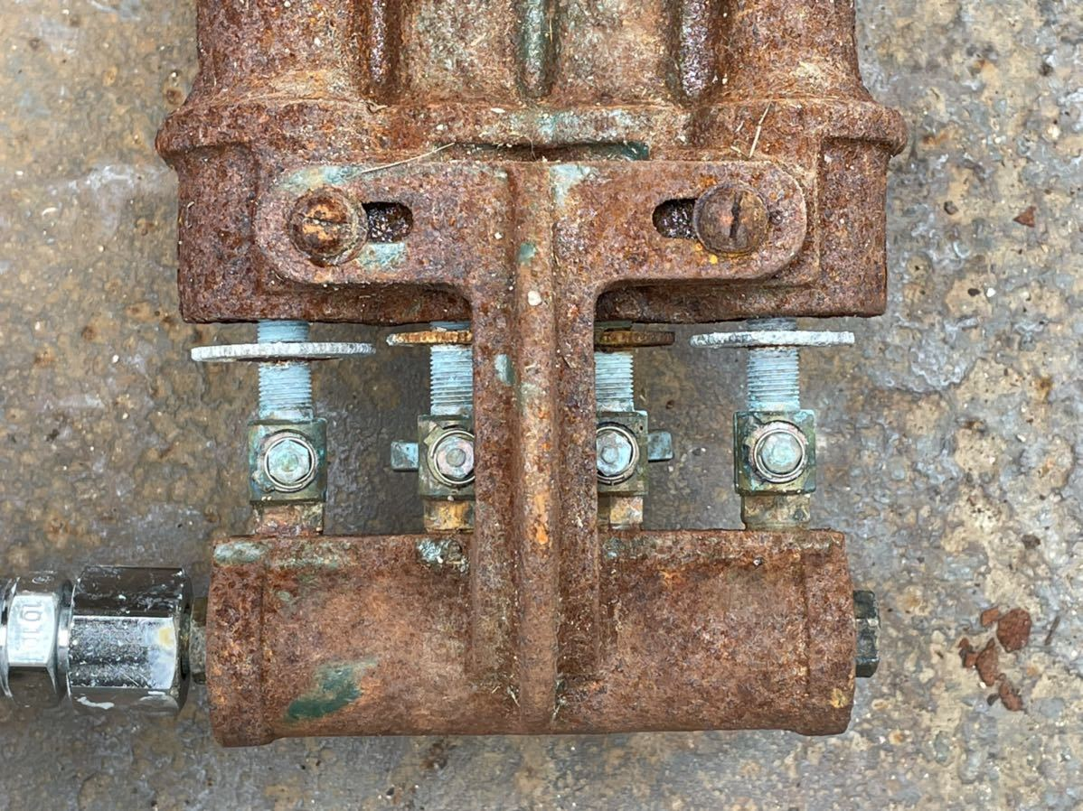 【確認動画】 7032-2 鋳物コンロ タチバナ TS-440 四重バーナー 業務用 現状品 2/3_画像5