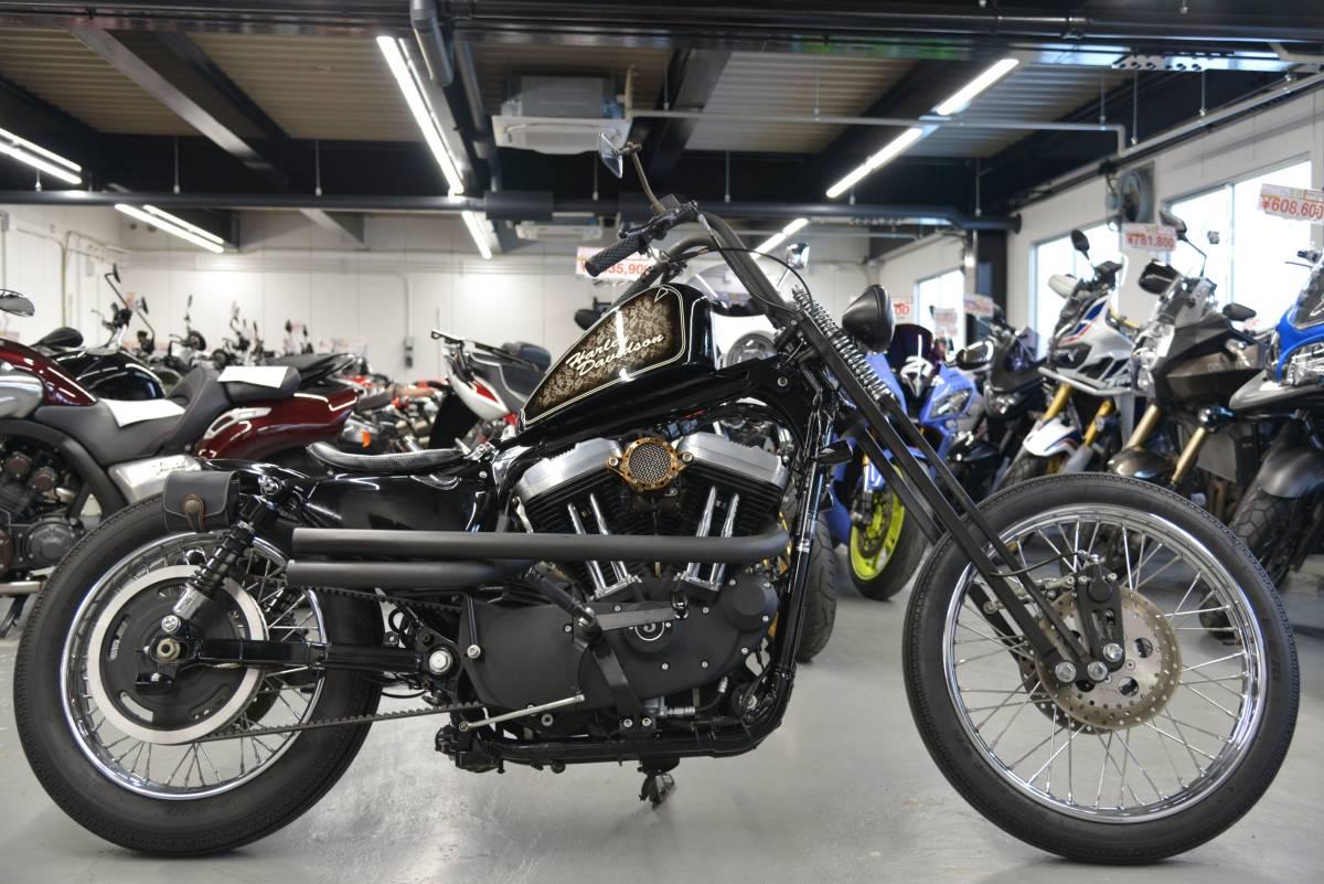 「● ハーレーダビッドソン XL1200X フォーティーエイト フルカスタム チョッパー スプリンガー他 検R5/7迄。諸費用込149.99万 ケーズバイク」の画像1
