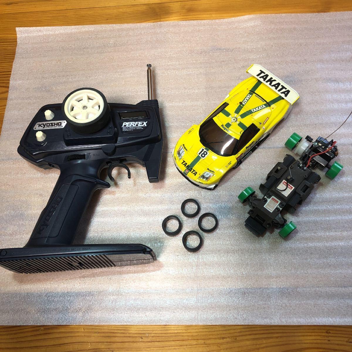 ミニッツ NSX GT2002 プロポセット 動作確認済