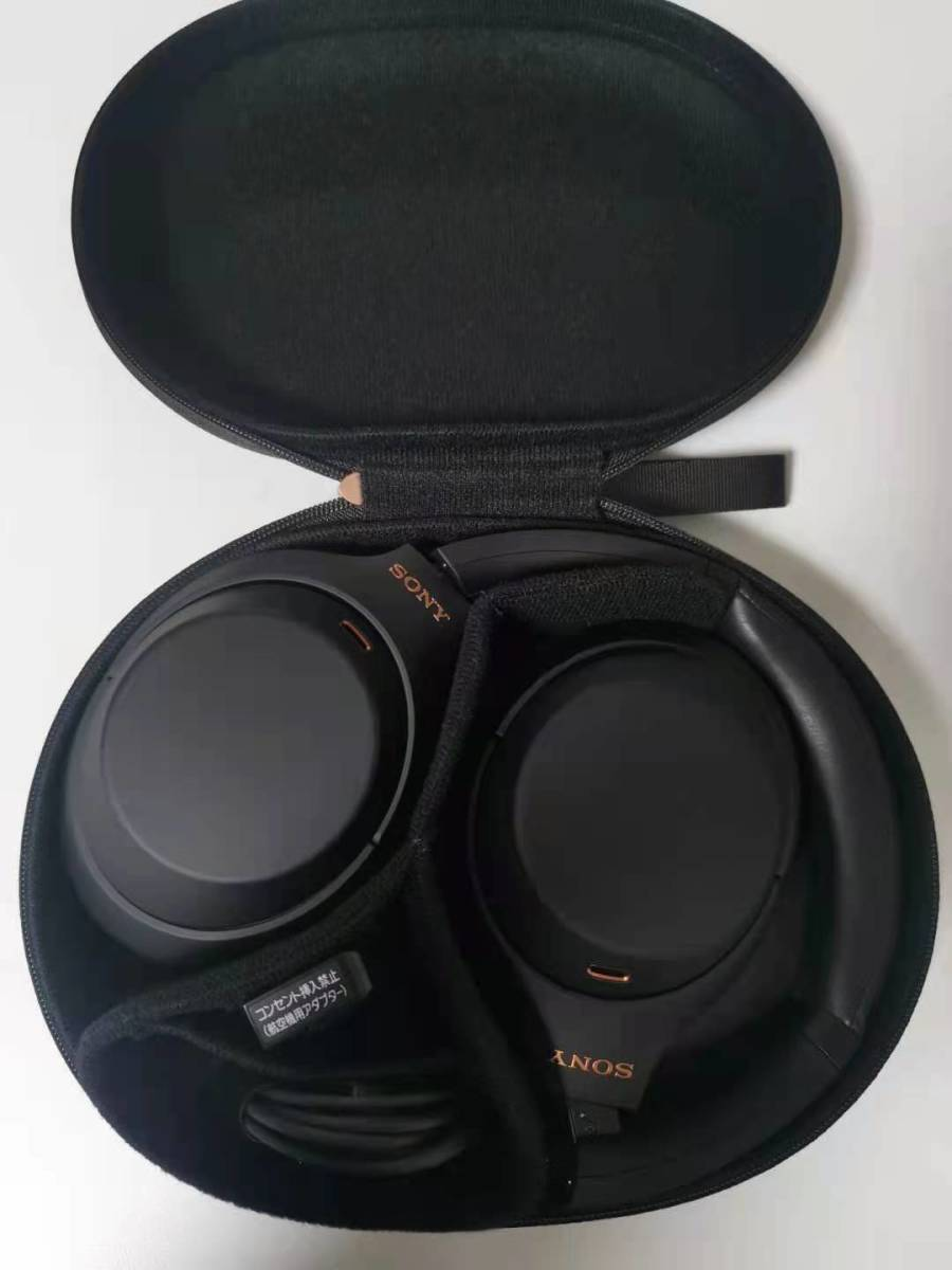 ほぼ新品SONY WH-1000XM4 (B) [ブラック]日本国内正規品 _画像6