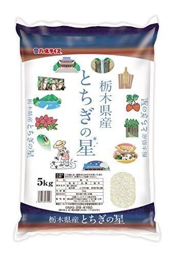 新品白米5kg 【精米】栃木県産 白米 とちぎの星 5kg 平成30年産7HZZ_画像1