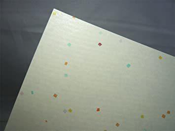 新品 クリーム色 B5判 100枚 【.co.jp 限定】和紙かわ澄 OA和紙 花ごよみ クリーム色 B5判 100KDAN_画像2