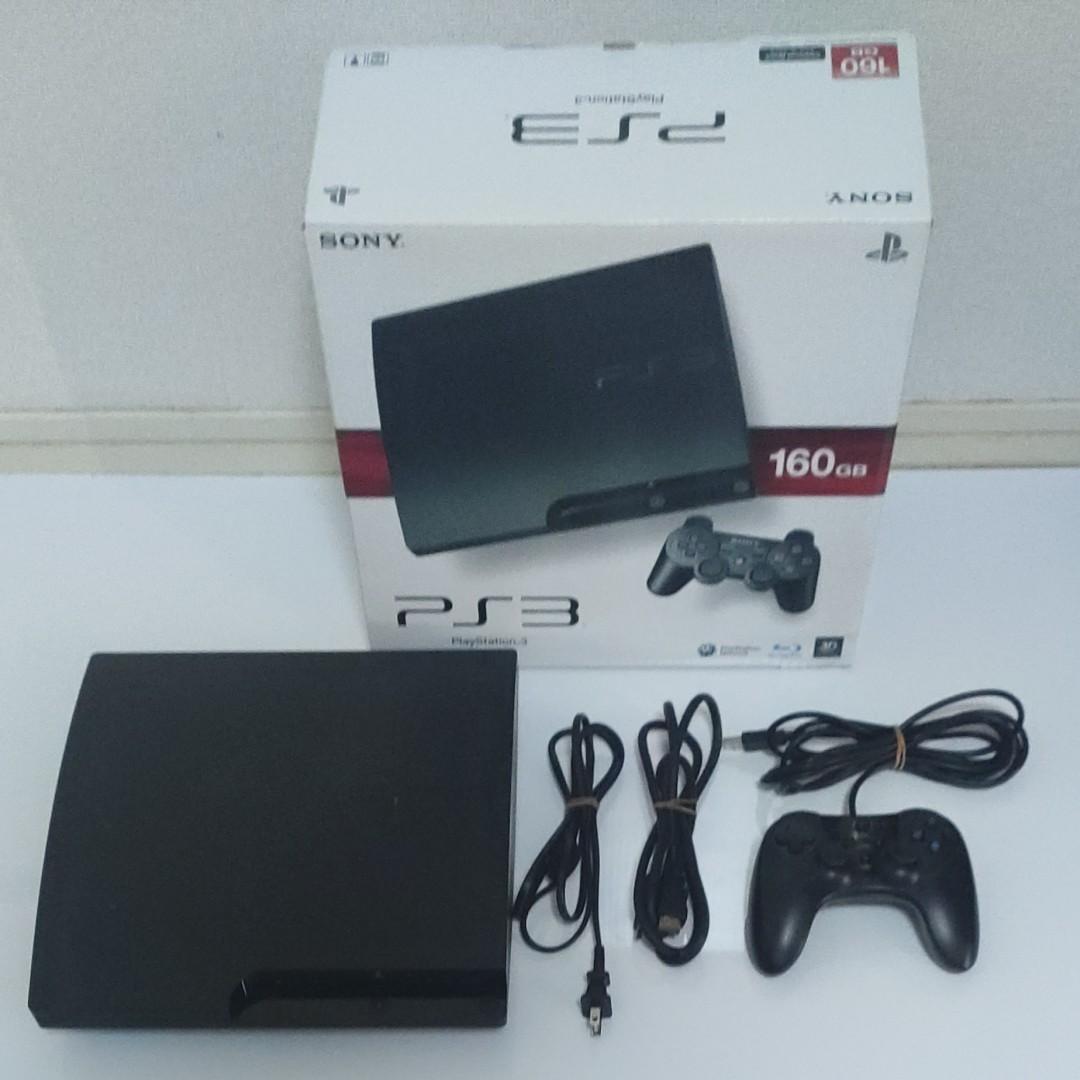 PS3本体 CECH-3000A 160GB ブラック SONY PlayStation3 プレイステーション3 箱あり