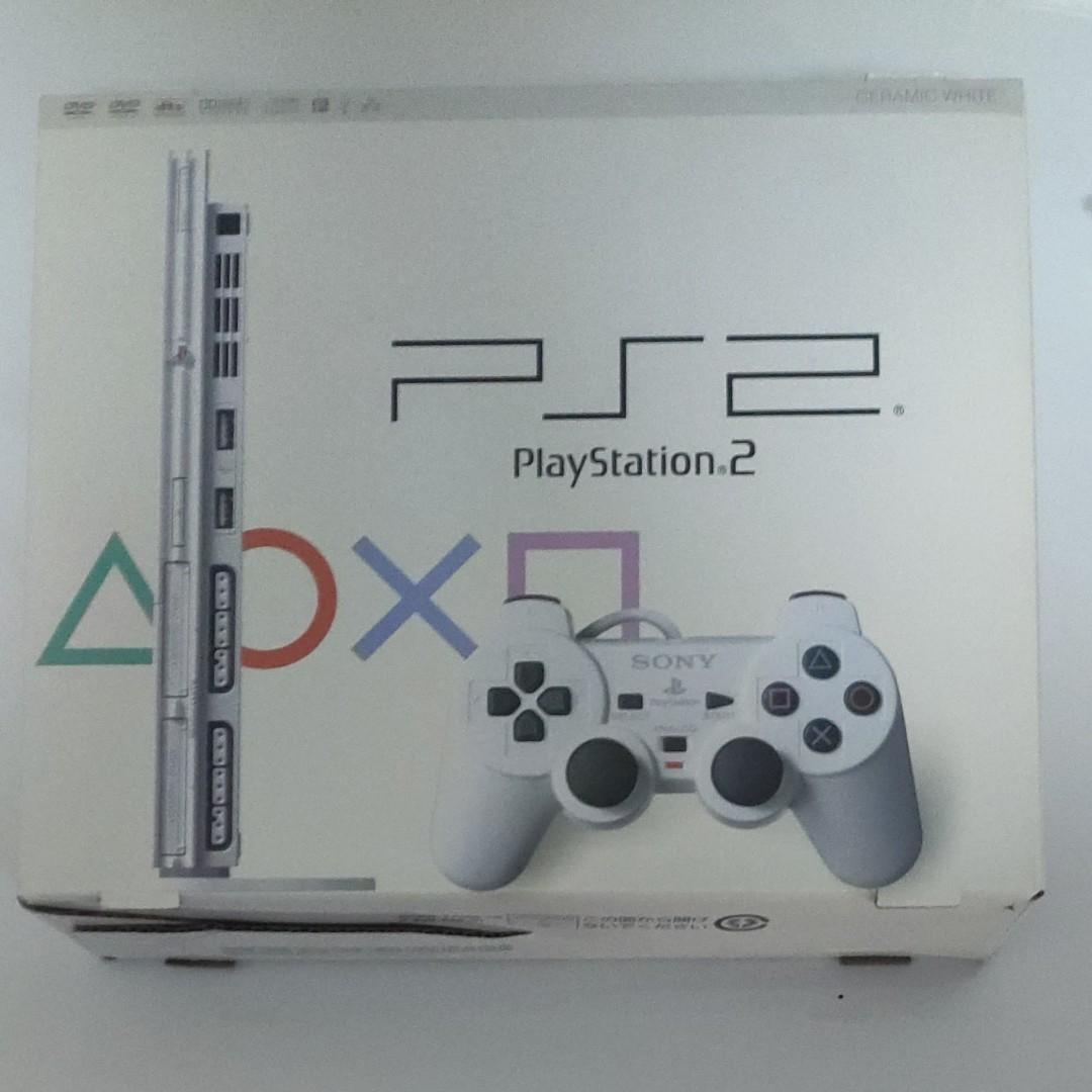 プレイステーション2 PS2 SONY ソフト2本付き コントローラー2個付き すぐに遊べるセット