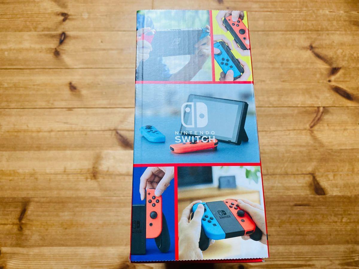 【新品未開封】 Nintendo Switch ニンテンドースイッチ Switch本体 ネオンブルー ネオンレッド