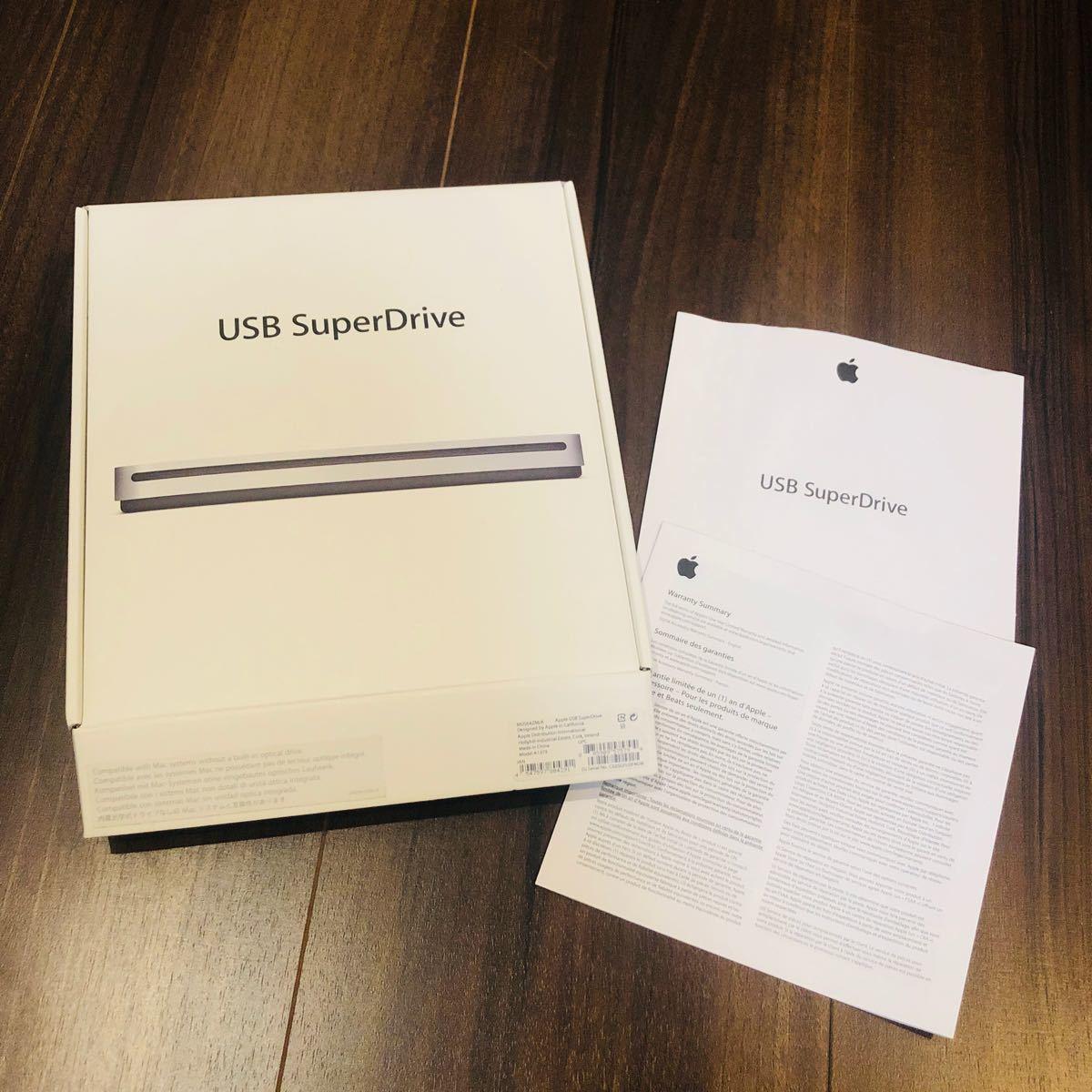 SuperDrive Apple 外付けDVDドライブ スーパードライブ USB DVDドライブ 箱のみ