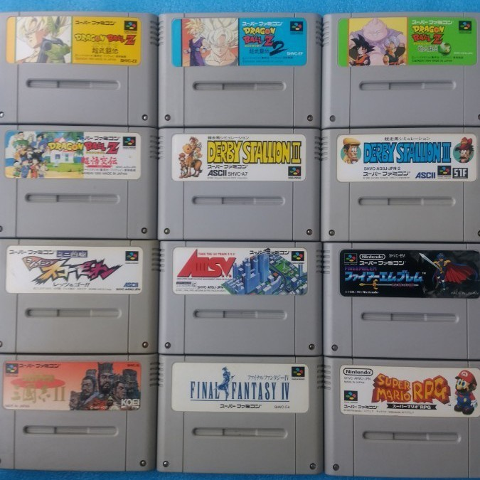 スーパーファミコン本体一式セットすぐ遊べる。