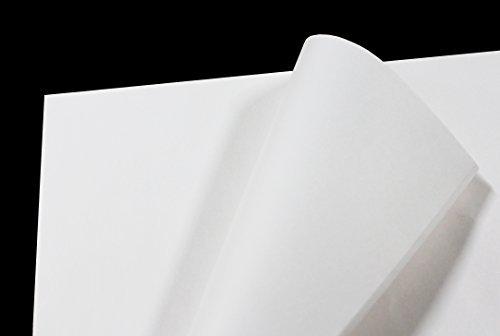 フジパック 純白紙 片面ツヤ加工 包装紙 100枚_画像3