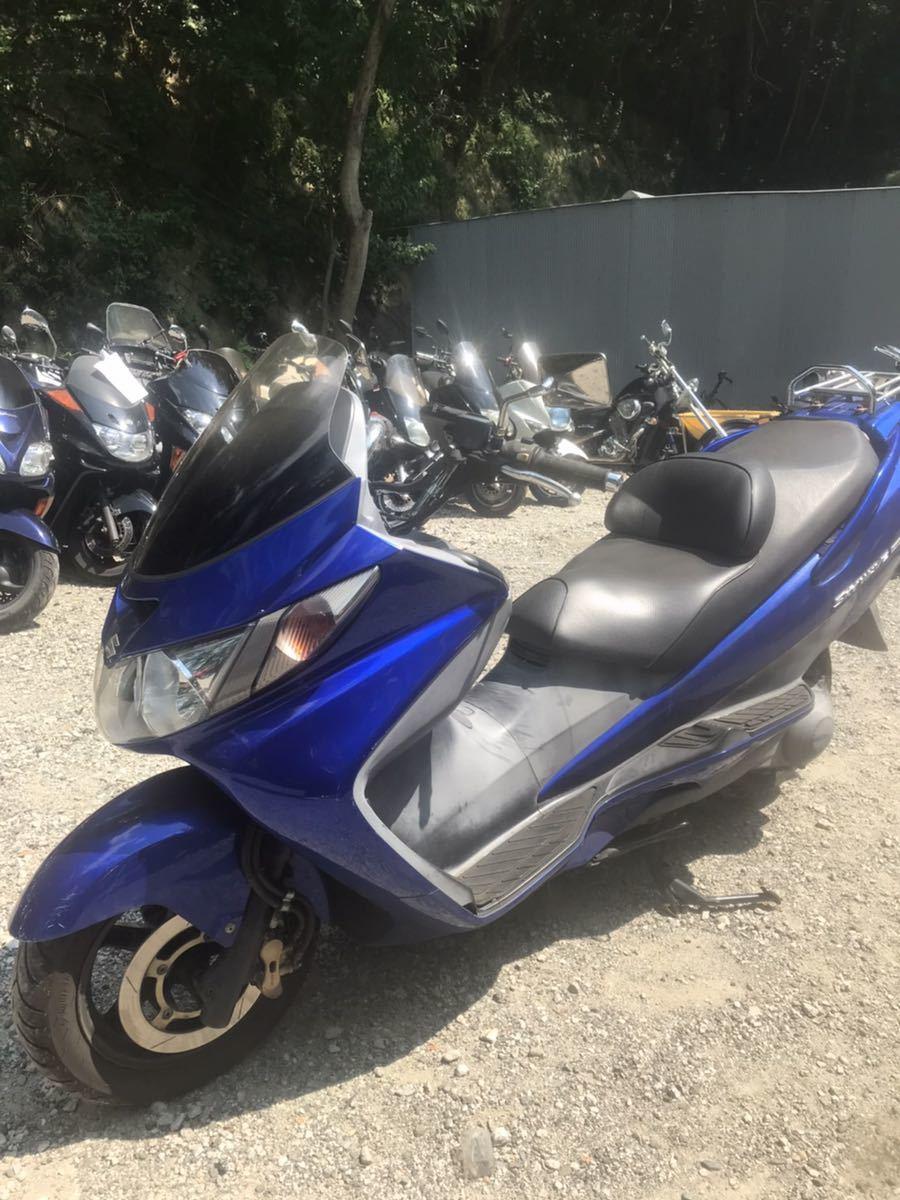 「スズキ スカイウェイブ スカブ 250cc 安定の スクーター ビックスクーター」の画像3