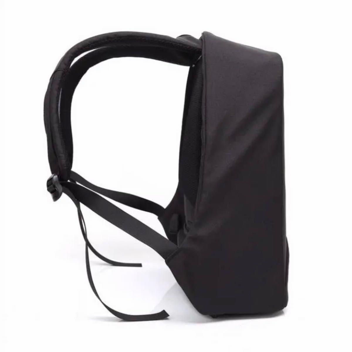 ビジネスリュック バックパック PCバッグ USB充電 大容量 多機能 黒
