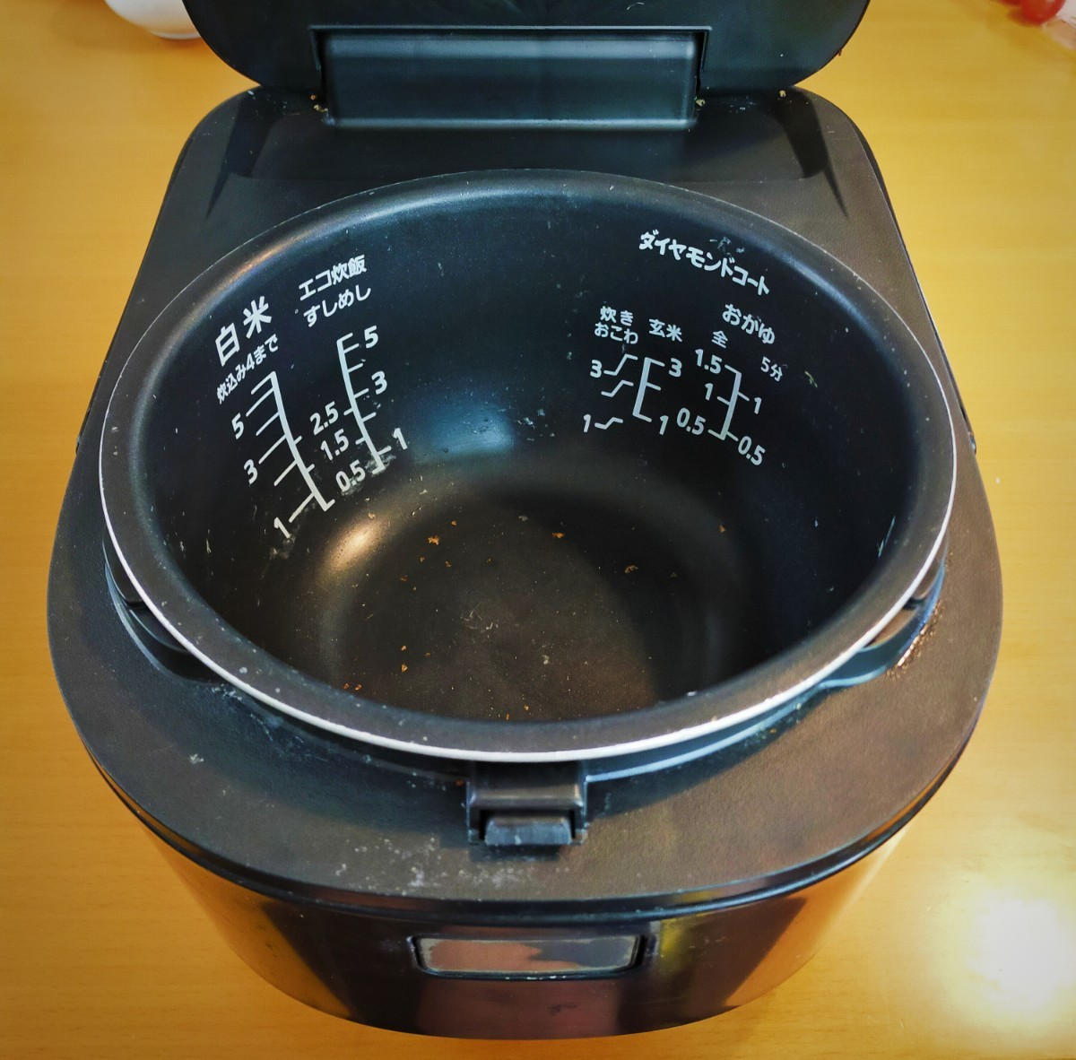 IHジャー炊飯器品番SRHB101  Panasonic 銅釜  IH炊飯ジャー  1リットル炊飯量