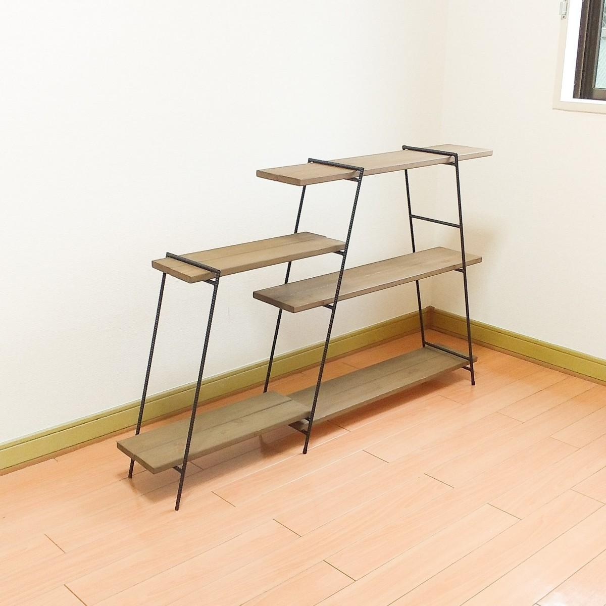アイアンテーブル アイアンラック アウトドア アイアンシェルフ 多肉植物 ガーデニング キャンプテーブル バーベキュー