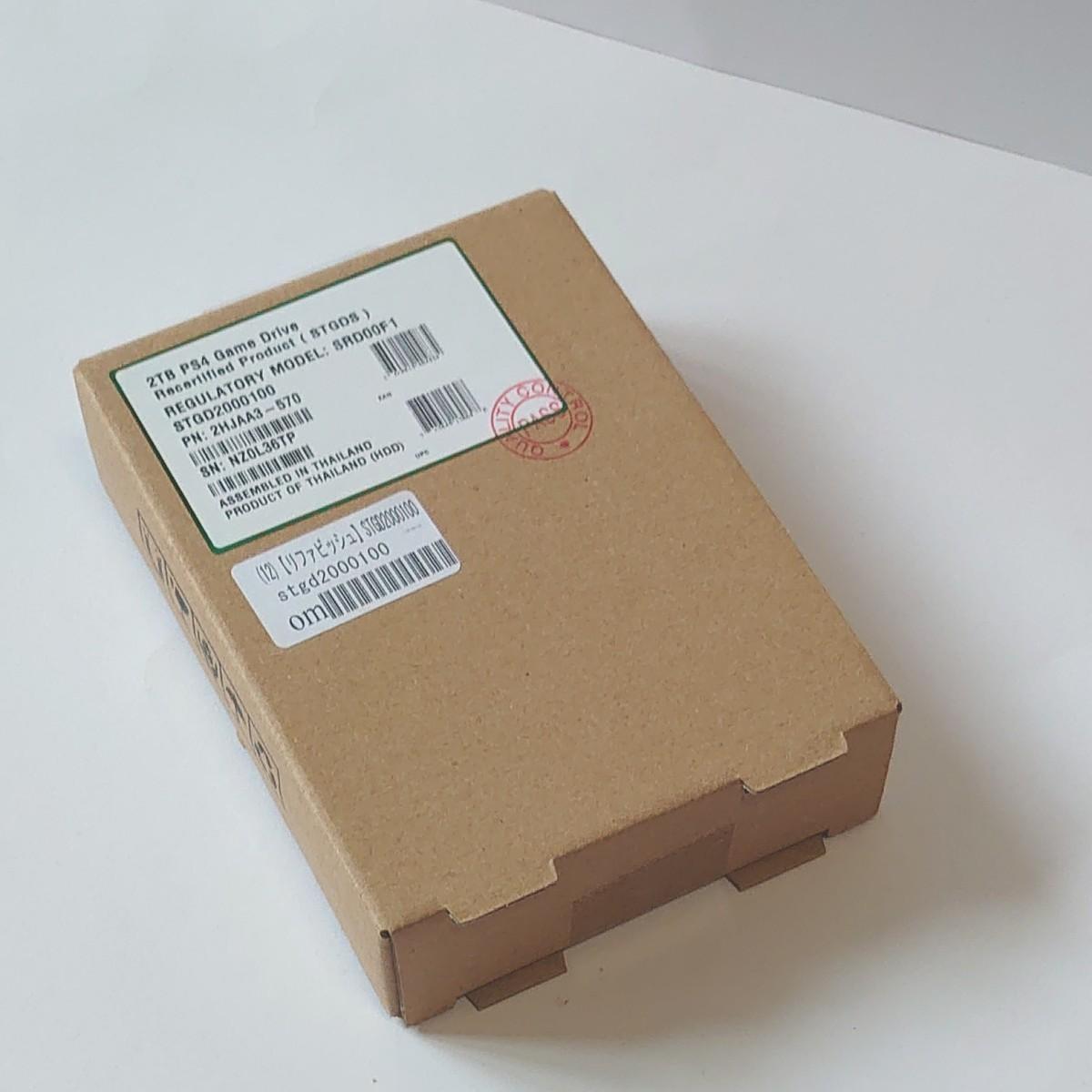 ポータブルHDD 2TB game drive PS4 PS5 ハードディスク お買い得
