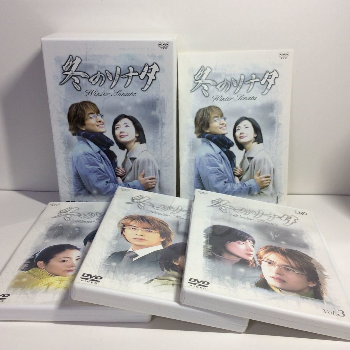 ◇ 冬のソナタ DVDボックスI&II  NHKDVD  セル版  小冊子、特典映像あり 初回限定生産品