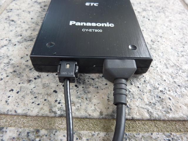 ★☆Panasonic パナソニック CY-ET900KD 音声履歴案内 ETC ユニット アンテナ分離型 12V/24V 本体のみ ジャンク☆★_画像3