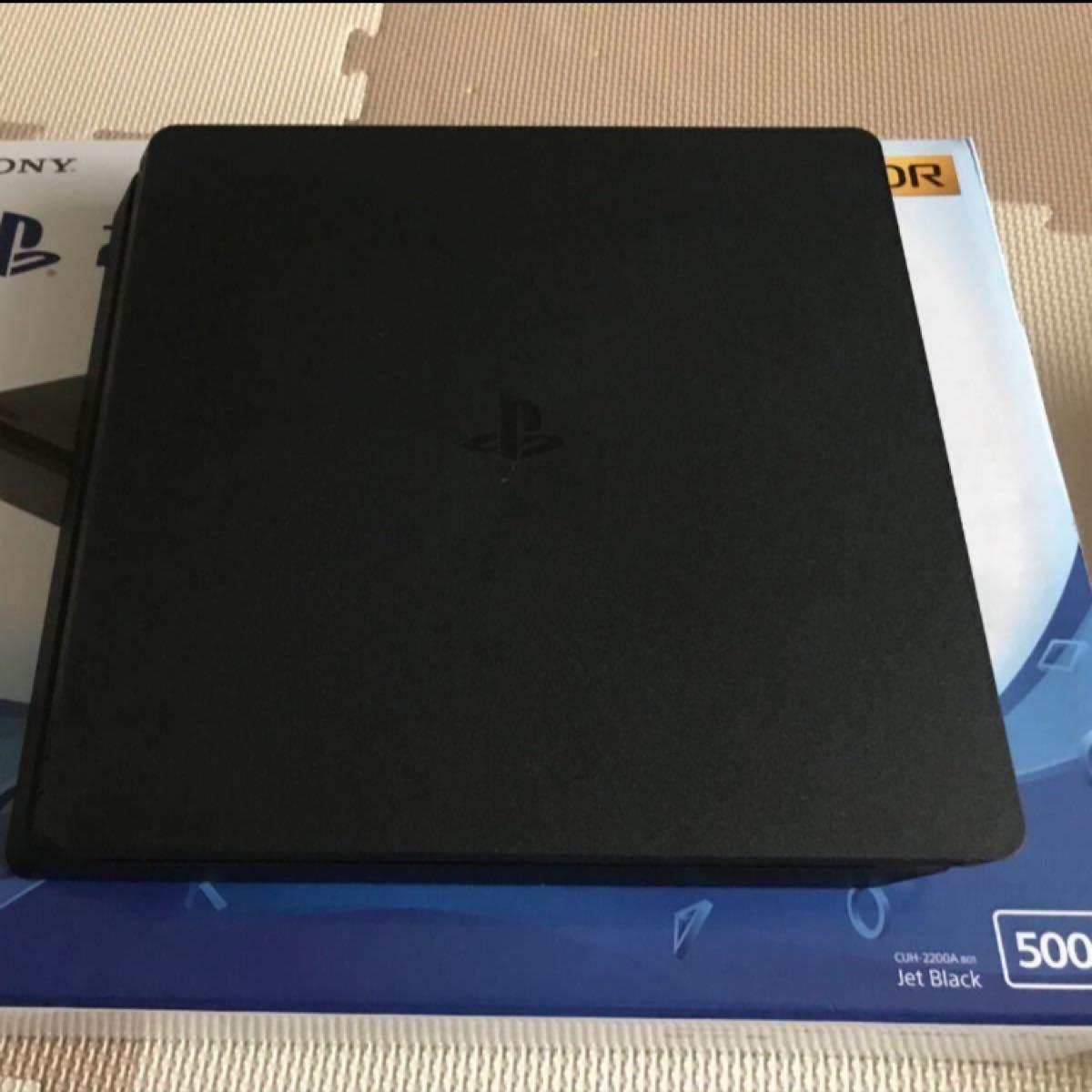 PS4本体 ジェットブラック プレステ4 CHU2000A B01 500GB PlayStation4