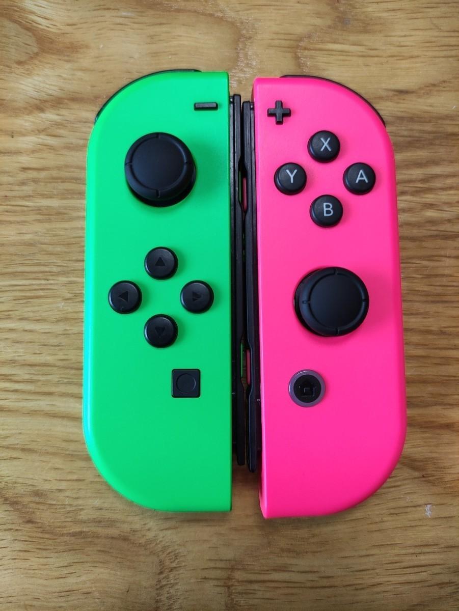 Nintendo Switch Joy-Con  ジョイコン ネオングリーン ネオンピンク 左右セット
