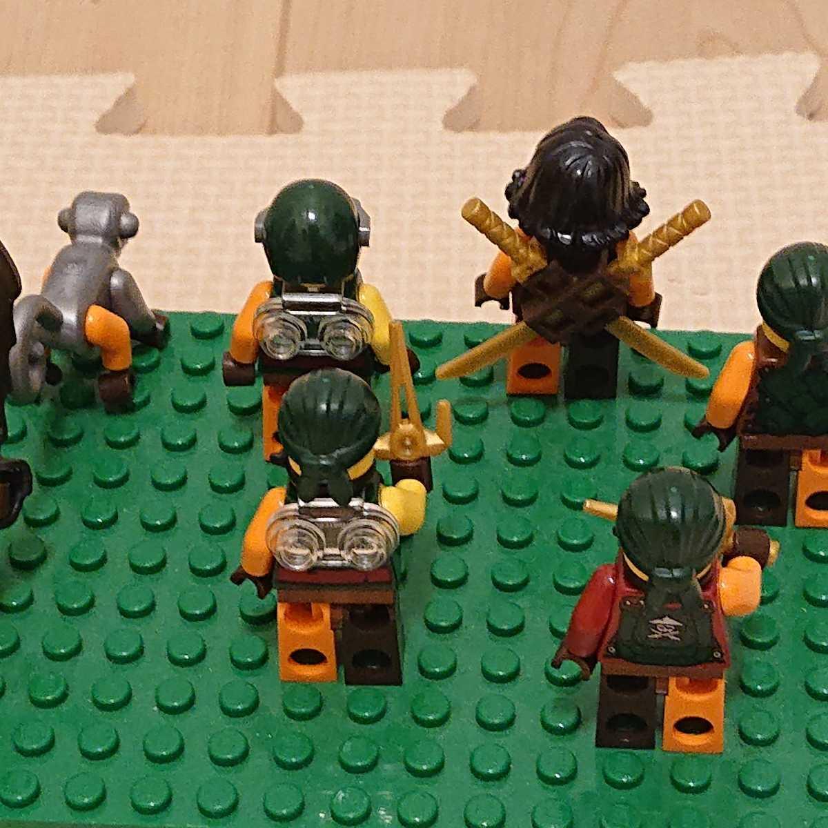 レゴ ミニフィグ 大量 まとめ売り ニンジャゴー _画像6