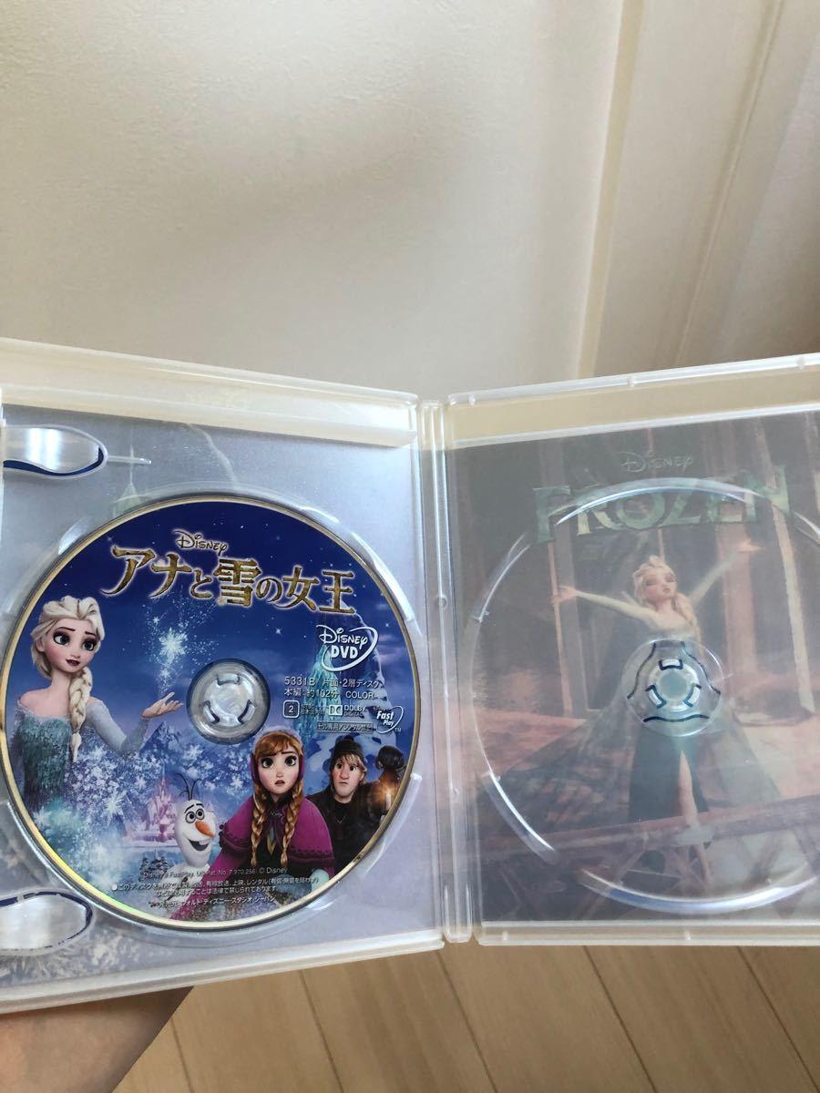 ディズニー アナと雪の女王 DVDとケース