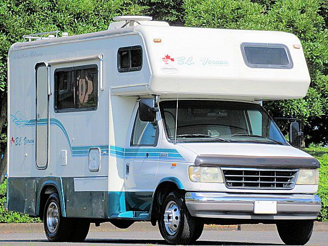 フォード エコノライン E-350 レジャーコーチワークス製キャンピングカー B.C.ヴァーノン ご家族でどうぞ♪♪_画像1