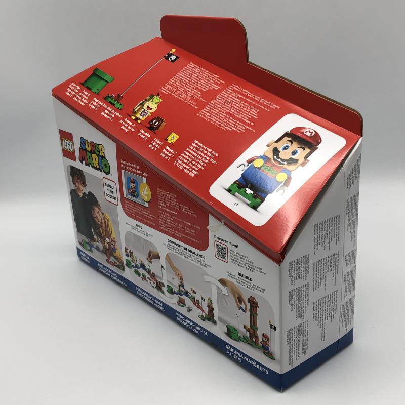 【中古】LEGO レゴ スーパーマリオ 71360 マリオとぼうけんのはじまりスターターセット [240010318805]_画像4