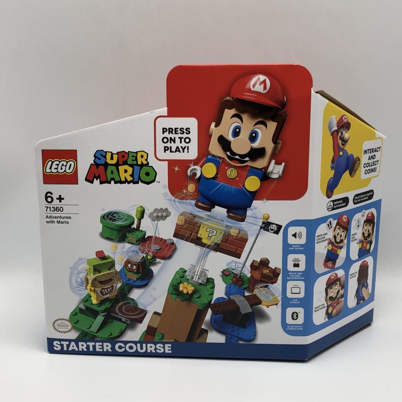 【中古】LEGO レゴ スーパーマリオ 71360 マリオとぼうけんのはじまりスターターセット [240010318805]_画像1