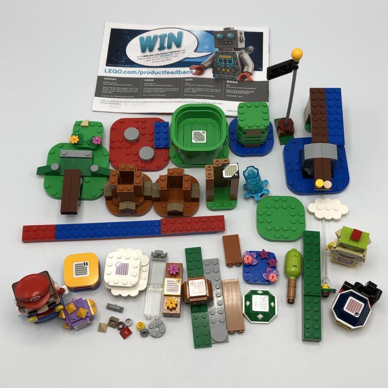 【中古】LEGO レゴ スーパーマリオ 71360 マリオとぼうけんのはじまりスターターセット [240010318805]_画像3