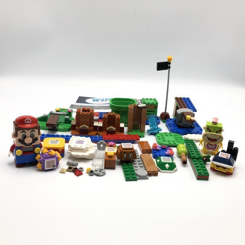 【中古】LEGO レゴ スーパーマリオ 71360 マリオとぼうけんのはじまりスターターセット [240010318805]_画像2