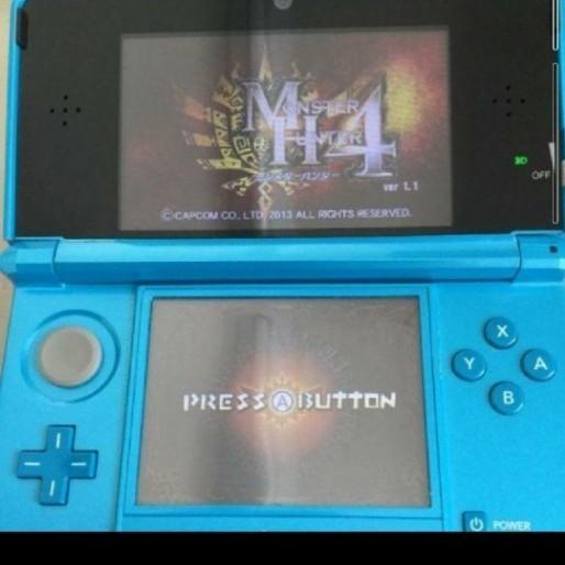 ニンテンドー 3DS 本体 モンスターハンター4仕様(美品) 同梱版