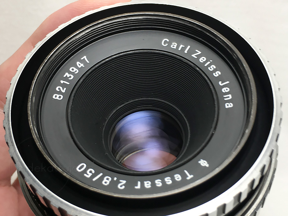安定した写りとオールド感のテッサー50mm【分解清掃・撮影チェック済み】Carl Zeiss Jena / Tessar 50mm F2.8 M42 _12t_画像9