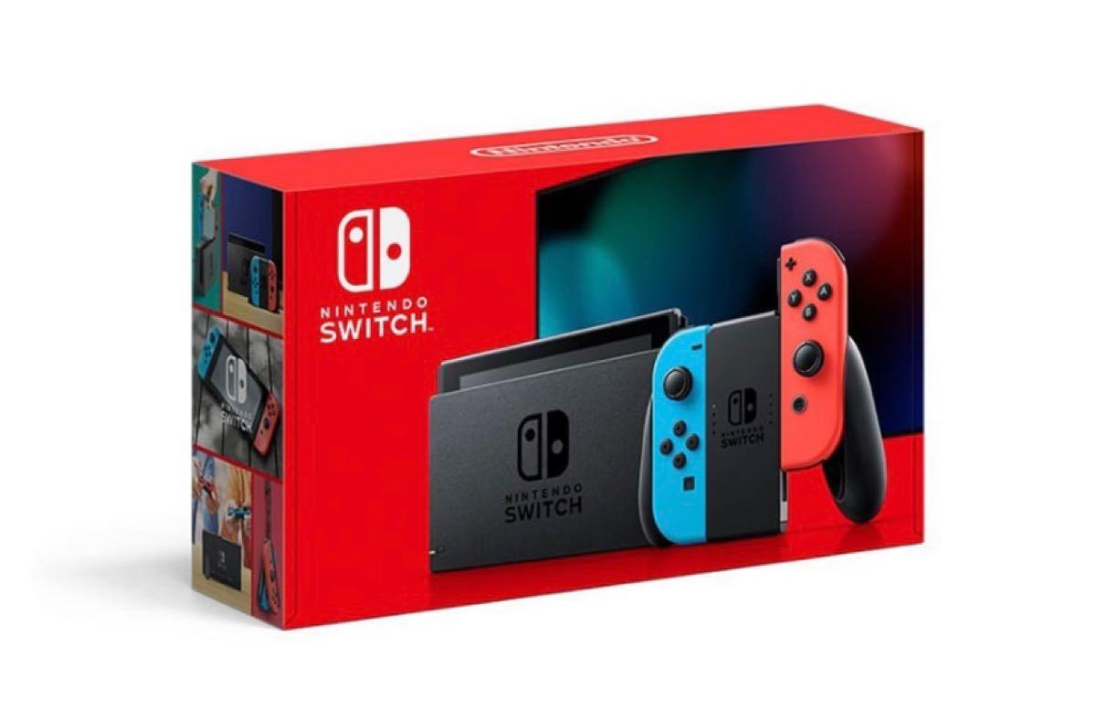 Nintendo Switch ニンテンドースイッチ ニンテンドースイッチ本体 ネオンブルー ネオンレッド Switch