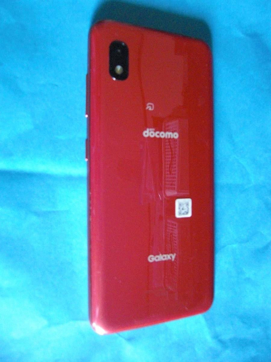 送料198円 ジャンク SC-42A SAMSUNG Galaxy A21 RAM 3GB ROM 64GB 5.8インチ Android 10_画像5