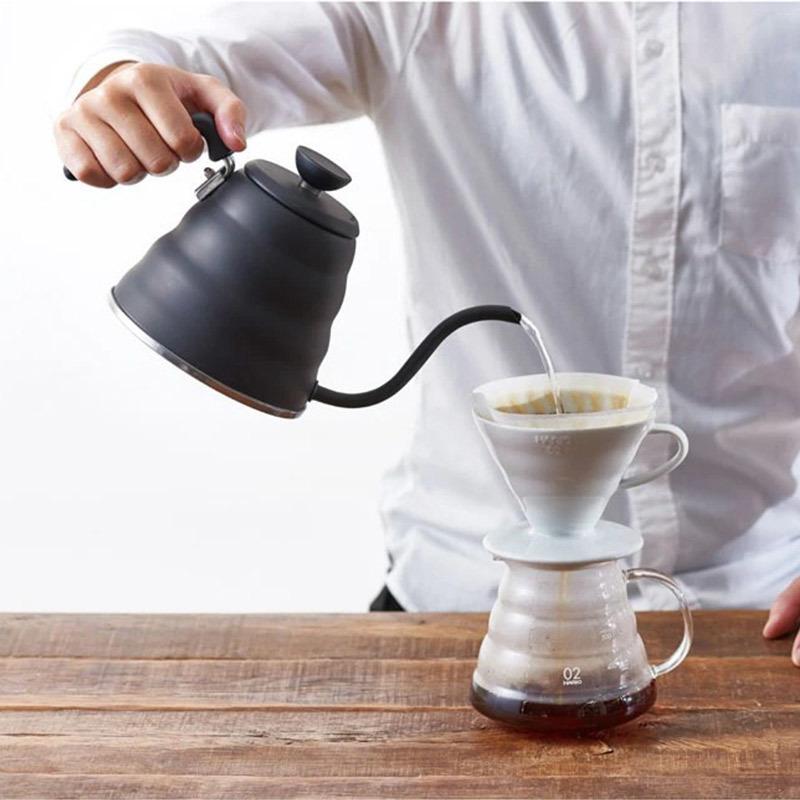 【IH対応】国産 実用800ml HARIO ドリップケトル マットブラック ドリップポット コーヒー ハンドドリップ やかん