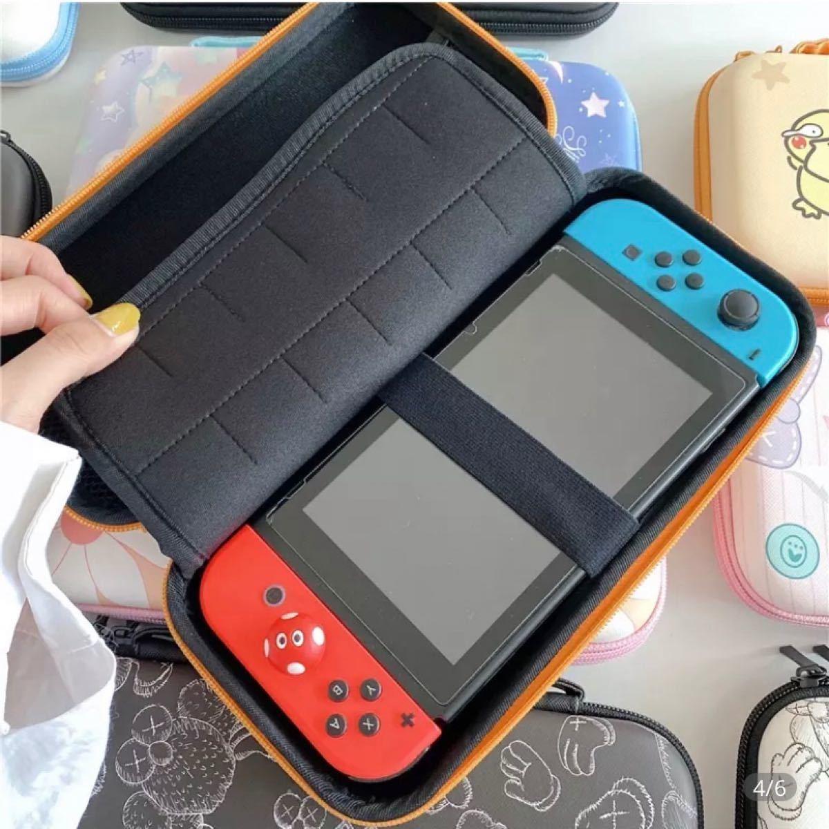 任天堂スイッチケース スイッチケース 保護ケース Nintendo switchケース  ハードケース エルモ