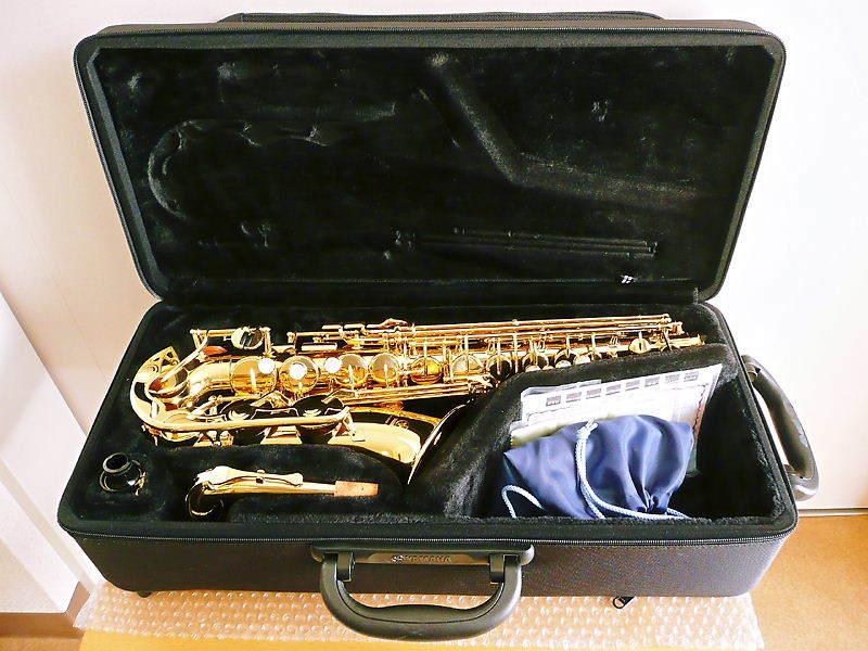 1円~ 美品 YAMAHA ヤマハ アルト サックス YAS-280 ♪ サクソフォン マウスピース セミハードケース入 管楽器 吹奏楽 楽器