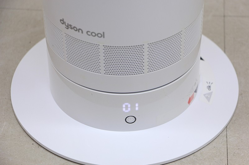 Dyson ダイソン AM07 リビングファン 扇風機 Dyson クール AM07LFWS ホワイト シルバー_画像2