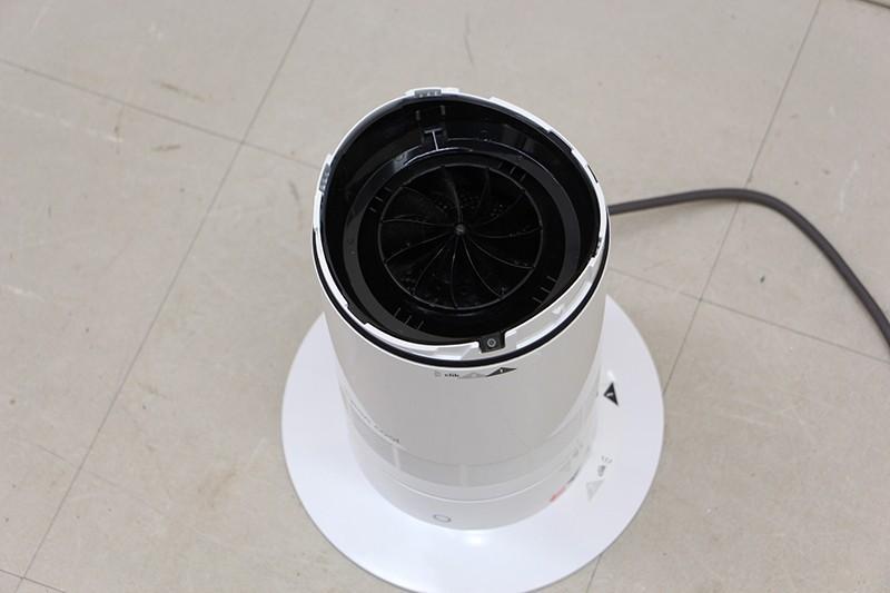 Dyson ダイソン AM07 リビングファン 扇風機 Dyson クール AM07LFWS ホワイト シルバー_画像4