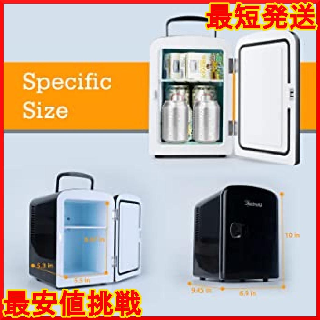 【在庫限り】 小型 冷蔵庫 ミニ冷蔵庫 小型冷蔵庫 冷温庫 AstroAI qPdv4 保温 4L 小型でポータブル 03ブラッ_画像2