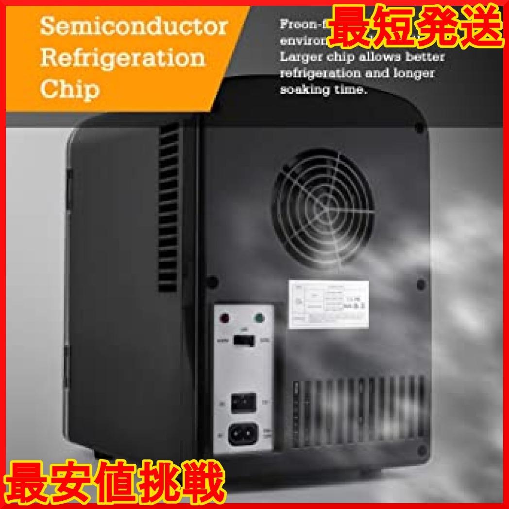 【在庫限り】 小型 冷蔵庫 ミニ冷蔵庫 小型冷蔵庫 冷温庫 AstroAI qPdv4 保温 4L 小型でポータブル 03ブラッ_画像6