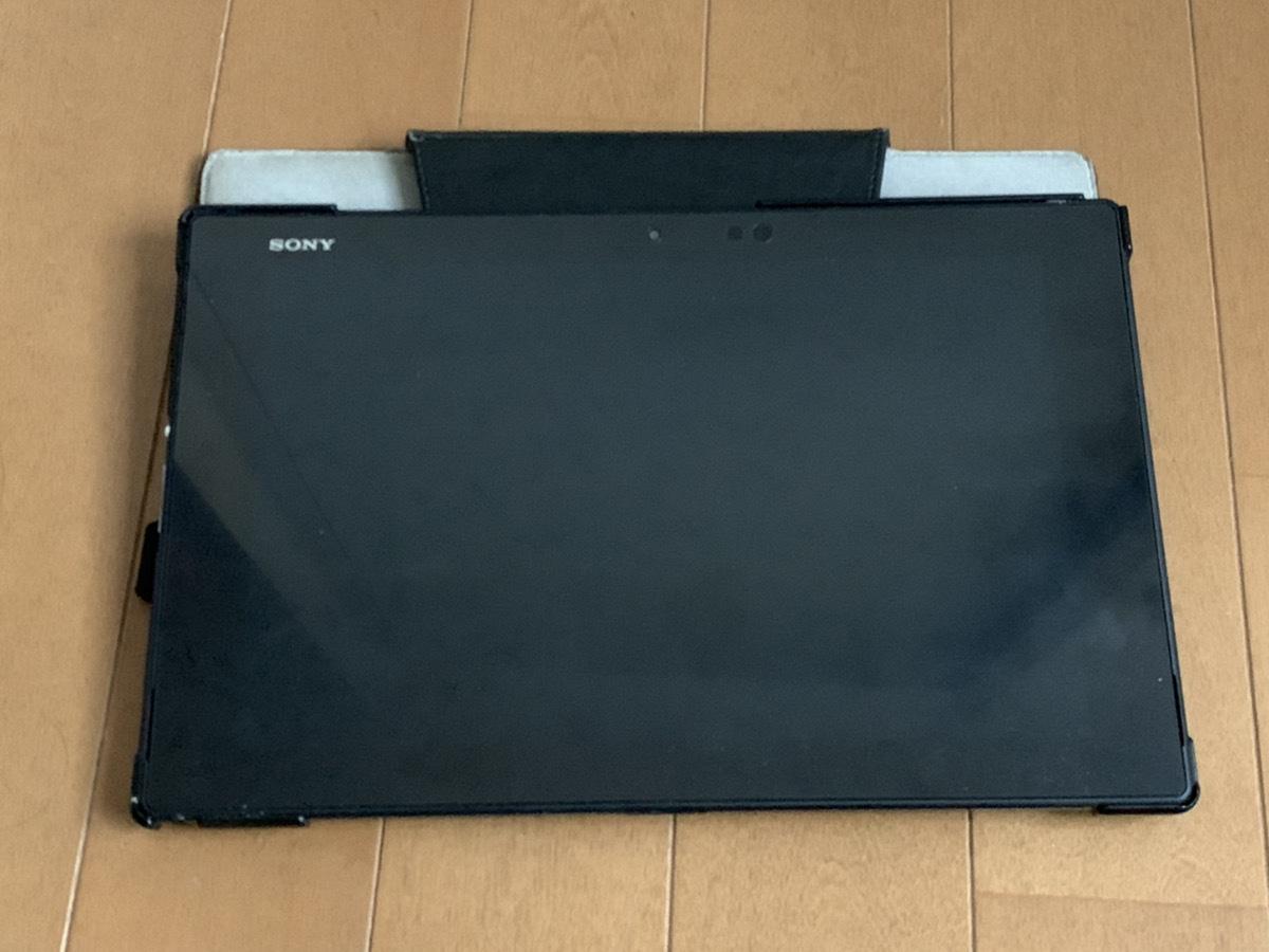 【ケース付】 ソニー SONY au Sony Xperia Z2 Tablet SOT21_画像2
