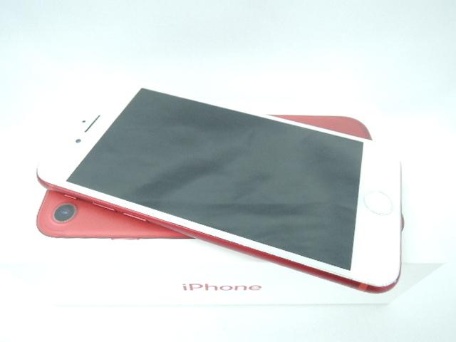 1円~【中古品】SoftBank ソフトバンク スマートフォン Apple iPhone7 128GB MPRX2J/A レッド 判定○ ※SIMロック解除済み 10804497