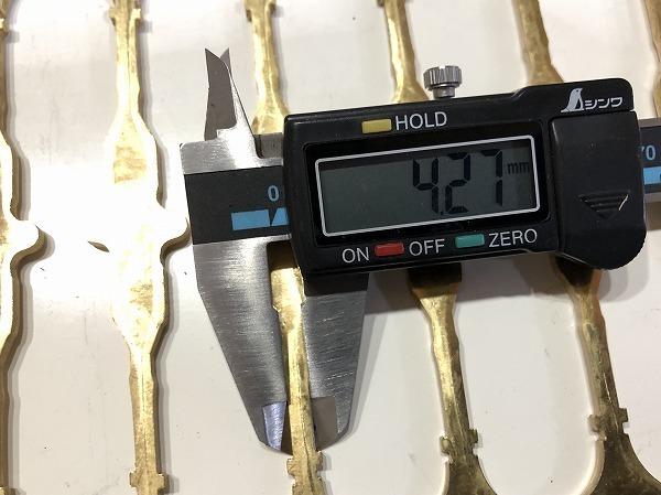 【3枚セット】真鍮板 打抜端材  厚さ3mm 真鍮プレート 黄銅板 工作 アクセサリー【スマートレター発送 180円】_画像7